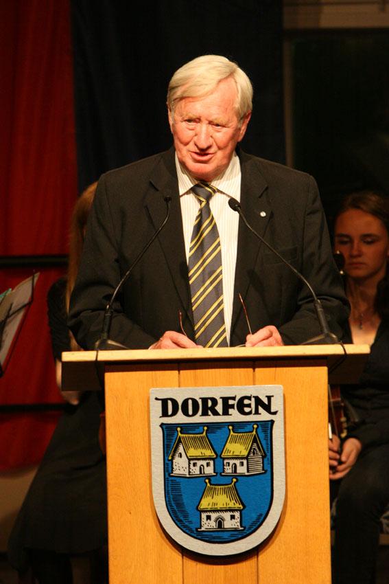 Prof. Dr. h.c.mult. Hans Zehetmair, Staatsminister a.D. (Festredner)