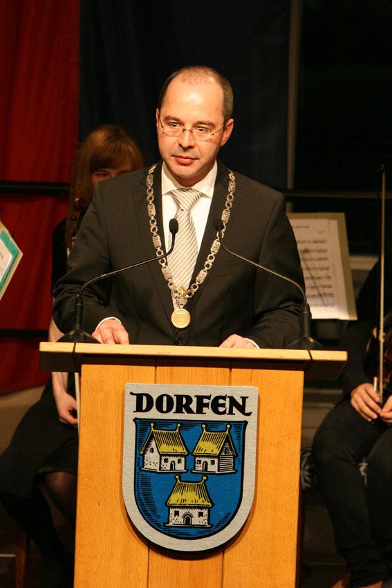 Heinz Grundner, Erster Bürgermeister der Stadt Dorfen
