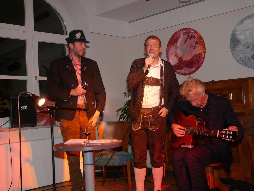 Lesung Wolfgang Hofer & Siegfried Unterhuber